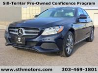 Like new, this Mercedes-Benz C300--with just 5800 miles