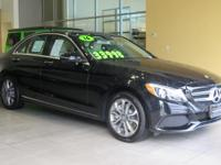 THIS C-CLASS IS CERTIFIED! CARFAX ONE OWNER! BLUETOOTH,