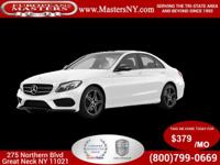 This Beautiful White 2016 Mercedes-Benz C300 4Matic