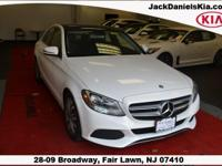 White 2016 Mercedes-Benz C-Class C 300 RWD 7G-TRONIC