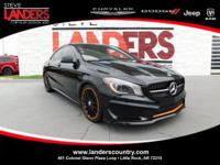 Clean CARFAX. Black 2016 Mercedes-Benz CLA CLA 250 FWD