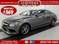 This Amazing Grey 2016 Mercedes-Benz CLS 400 4Matic