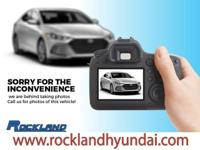 ROCKLAND HYUNDAI is pleased to be currently offering