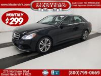 This Beautiful Black 2016 Mercedes-Benz 4Matic E350