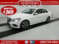 This Incredible White 2016 Mercedes-Benz E350 4Matic