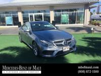 Check out this gently-used 2016 Mercedes-Benz E-Class