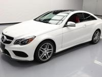 This awesome 2016 Mercedes-Benz E-Class 4x4 comes