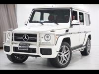 2016 MERCEDES BENZ G63 AMG Finished with White Exterior