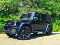 2016 Mercedes-Benz G-Class Diamond Stitched Black