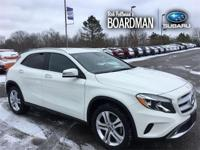 White 2016 Mercedes-Benz GLA GLA 250 4MATIC 4MATIC