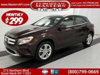 This Amazing Brown 2016 Mercedes-Benz GLA 250 4Matic