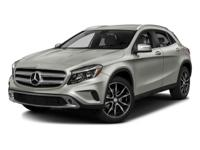 This 2016 Mercedes-Benz GLA GLA250 is offered to you