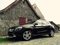 2016 Mercedes GLA 250. So few miles means it's like