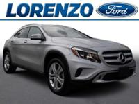 Options:  2016 Mercedes Gla Gla250|Polar Silver