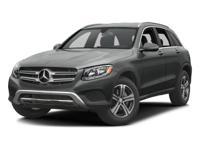 Options:  2016 Mercedes Glc 300|Iridium Silver/Black Mb