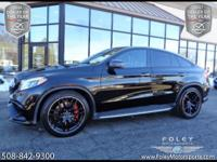 2016 Mercedes-Benz AMG GLE63 S 4MATIC Coupe... Black on