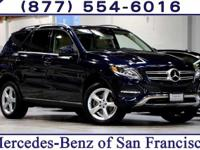 Clean CARFAX. Blue 2016 Mercedes-Benz GLE 350 4MATIC
