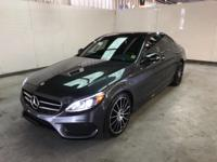 This Mercedes-Benz C-Class has a powerful Intercooled