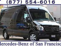 Jet Black 2016 Mercedes-Benz Sprinter 2500 Passenger
