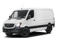Options:  2016 Mercedes Sprinter Cargo Van Worker Rwd