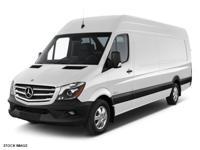 This WHITE 2016 Mercedes-Benz Sprinter Cargo 2500 170