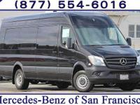 Jet Black 2016 Mercedes-Benz Sprinter 3500 Cargo 170 WB