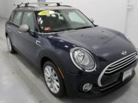 New Price! 2016 MINI Cooper Clubman Blue Odometer is