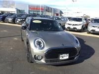 CARFAX One-Owner. Clean CARFAX. Gray 2016 MINI Cooper