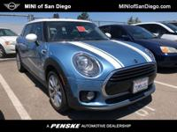 This 2016 MINI Cooper Clubman 4dr Clubman features a