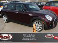 This 2016 MINI Cooper Clubman (***ONE OWNER, CLEAN