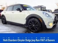 CARFAX 1-Owner, MINI Certified, ONLY 21,054 Miles! S