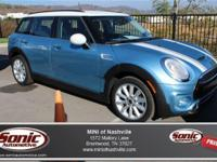 This Certified Pre-Owned 2016 MINI Cooper S Clubman