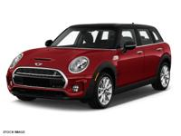Options:  2016 Mini Cooper Clubman 4Dr Hb S|4 Cylinder