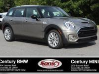 Scores 32 Highway MPG and 22 City MPG! This MINI Cooper