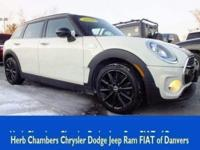 JUST REPRICED FROM $22,698. MINI Certified, CARFAX