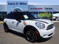 Countryman trim. EPA 32 MPG Hwy/27 MPG City! GREAT