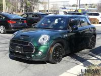 CARFAX One-Owner. Clean CARFAX. Green 2016 MINI Cooper