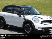 Excellent Condition, MINI Certified, CARFAX 1-Owner,