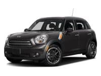CARFAX 1-Owner, MINI Certified, GREAT MILES 9,596! FUEL
