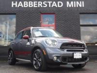Bold and beautiful, this 2016 MINI Cooper Countryman S