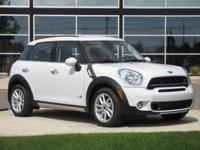 2016 Mini Cooper S Countryman S ALL4 Light WhiteABOUT