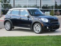 2016 Mini Cooper S Countryman Cosmic Blue MetallicABOUT