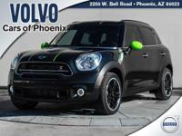 2016 MINI Cooper S Countryman Absolute Black Metallic