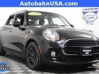 Midnight Black Metallic 2016 MINI Cooper FWD 6-Speed