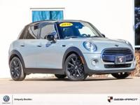 CARFAX One-Owner. Clean CARFAX. Black 2016 MINI Cooper
