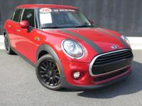 **2016 MINI COOPER**4DR**MINI CERTIFIED**6YR/100K MILE