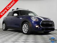 2016 MINI Cooper S with only 36751 on the odometer,