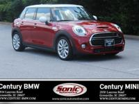 1 Owner, Clean Carfax! This 2016 MINI Cooper Hardtop