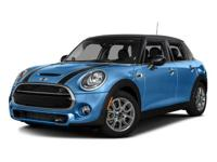 Elegantly expressive, this 2016 MINI Cooper Hardtop 4