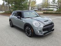 Sharp-looking 2016 MINI Cooper S 4-door in Moonwalk